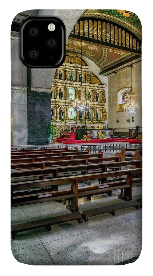 Catholic IPhone Case featuring the photograph Basilica Minore Del Santo Nino by Adrian Evans
