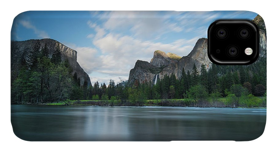 Yosemite IPhone Case featuring the photograph Beautiful Yosemite by Larry Marshall