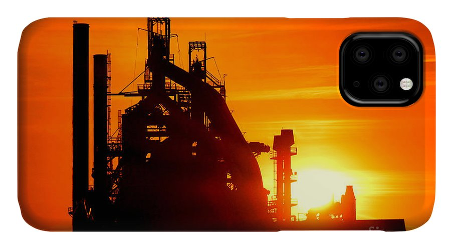 Bethlehem IPhone 11 Case featuring the photograph Bethlehem Sunset by Olivier Le Queinec