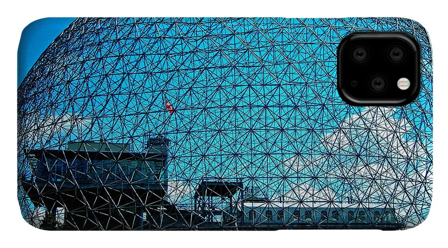 North America IPhone Case featuring the photograph Biosphere Montreal by Juergen Weiss