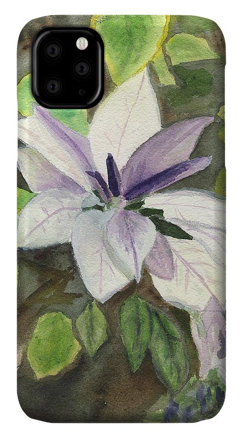 Blossom IPhone Case featuring the painting Blossom At Sundy House by Donna Walsh