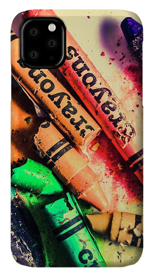 School IPhone 11 Case featuring the photograph Breaking The Creative Spectrum by Jorgo Photography - Wall Art Gallery