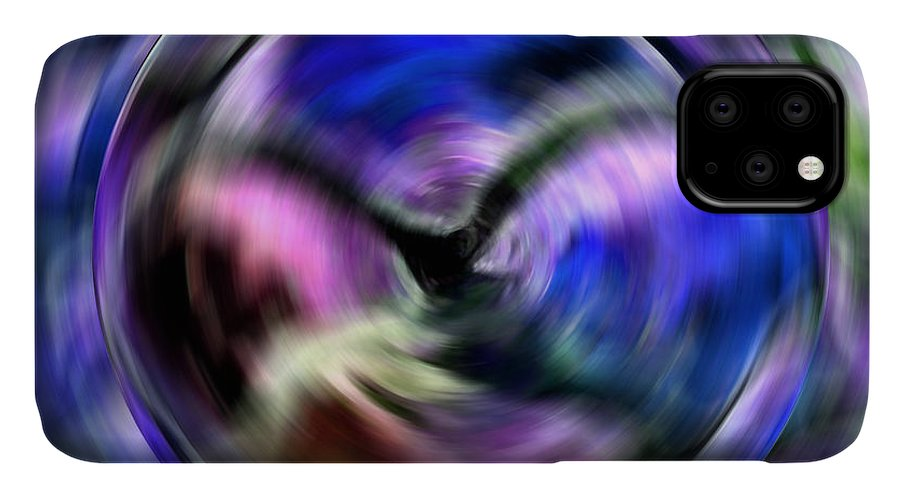 Abstract Art IPhone Case featuring the digital art Breakthrough by Krissy Katsimbras