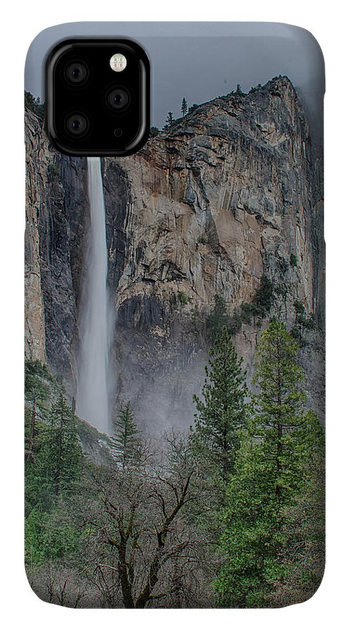 Bridal Veil Buttress IPhone Case featuring the photograph Bridalveil Fall by Bill Roberts