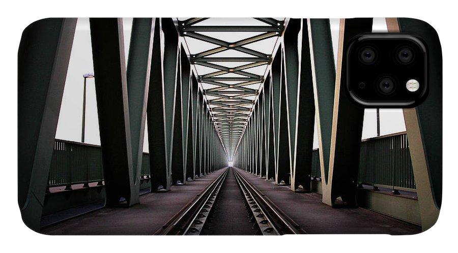 Bridge IPhone Case featuring the photograph Bridge by Zoltan Toth