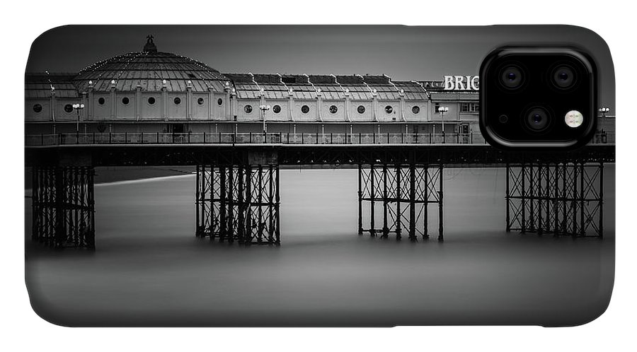 Brighton Pier IPhone Case featuring the photograph Brighton Pier, England by Ivo Kerssemakers
