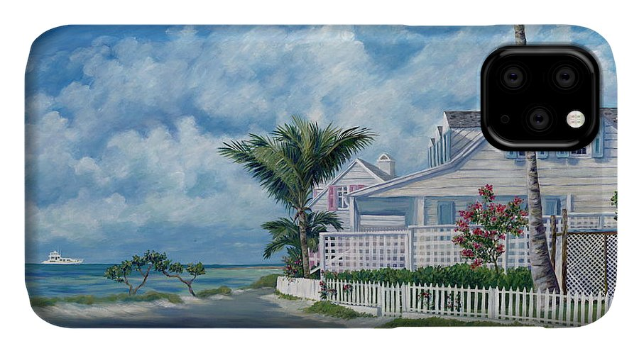 Harbor Island IPhone Case featuring the painting Briland Breeze by Danielle Perry