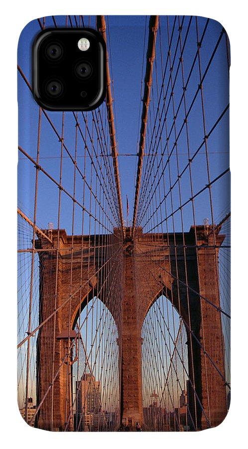 Brooklyn Bridge IPhone 11 Case featuring the photograph Brooklyn Bridge by Brooklyn Bridge
