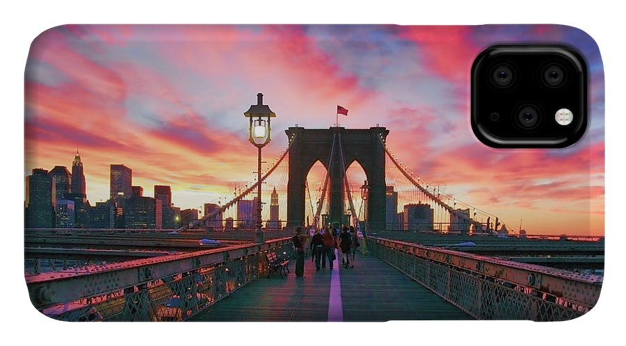 Brooklyn IPhone 11 Case featuring the photograph Brooklyn Sunset by Rick Berk
