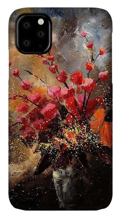 Poppies IPhone Case featuring the painting Bunch 1207 by Pol Ledent