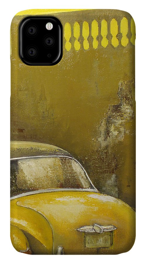 Havana IPhone Case featuring the painting Buscando La Sombra by Tomas Castano