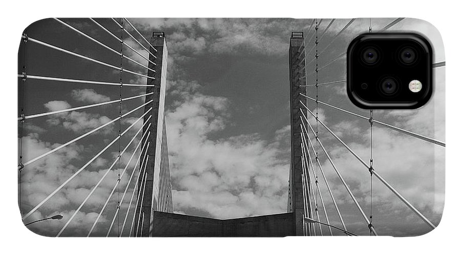 Cape Girardeau IPhone Case featuring the photograph Cape Girardeau Bridge by Marie Leslie
