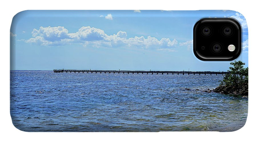 Fishing IPhone 11 Case featuring the photograph Cast A Line by Ric Schafer