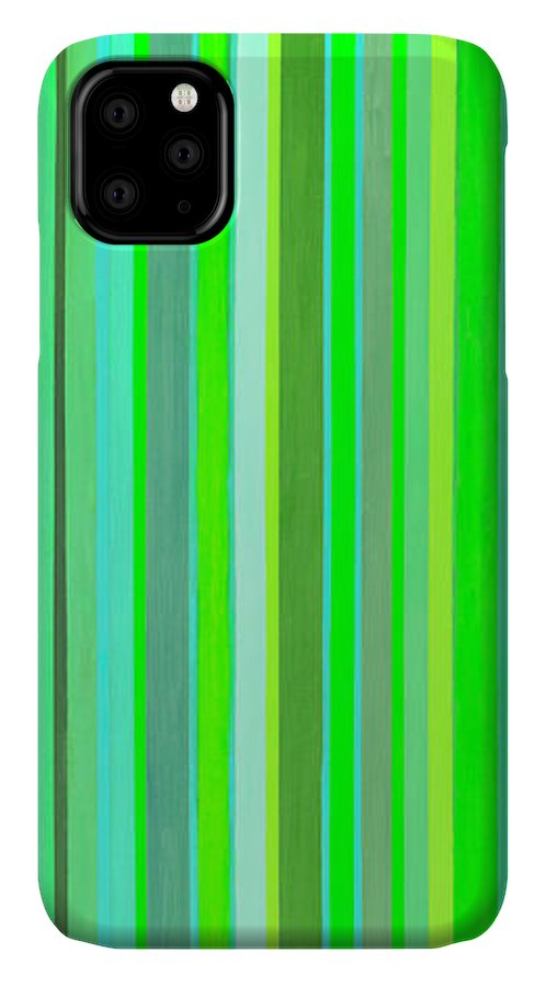 Celestial Big Wood IPhone Case featuring the painting Celestial Big Wood by Adamantini Feng shui