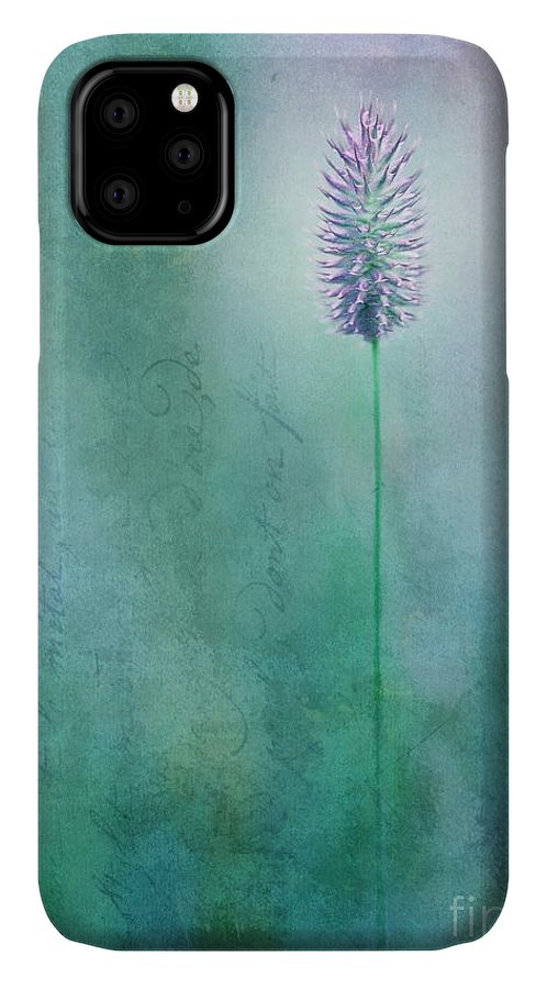 Grass IPhone Case featuring the photograph Chandelle by Priska Wettstein