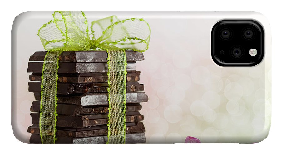 Addiction IPhone 11 Case featuring the photograph Chocolate by Nailia Schwarz