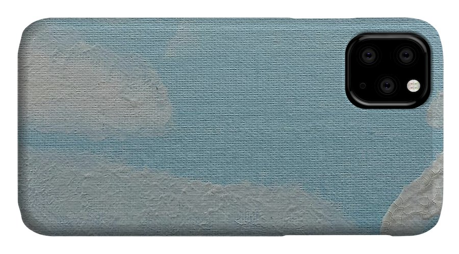 Clouds IPhone Case featuring the painting Clouds by Epic Luis Art