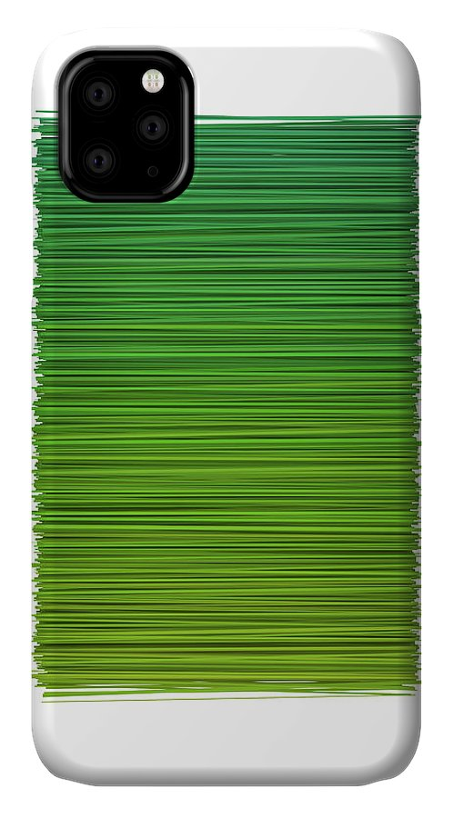 Abstract IPhone Case featuring the digital art Color And Lines 2 by Scott Norris
