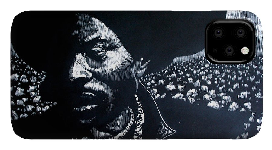 IPhone Case featuring the mixed media Cotton The Fabric of our lives by Chester Elmore