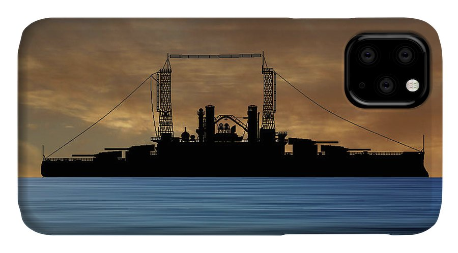Cus Michigan IPhone Case featuring the photograph Cus Michigan 1909 V2 by Smart Aviation