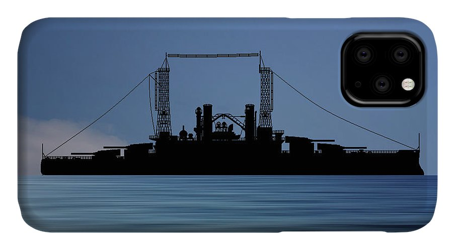 Cus Michigan IPhone Case featuring the photograph Cus Michigan 1909 V4 by Smart Aviation