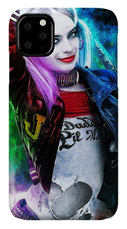 Heroes IPhone 11 Case featuring the digital art Daddys Little Girl by Canvas Cultures