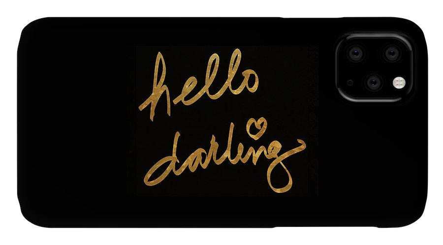 Darling IPhone Case featuring the painting Darling Bella I by South Social Studio