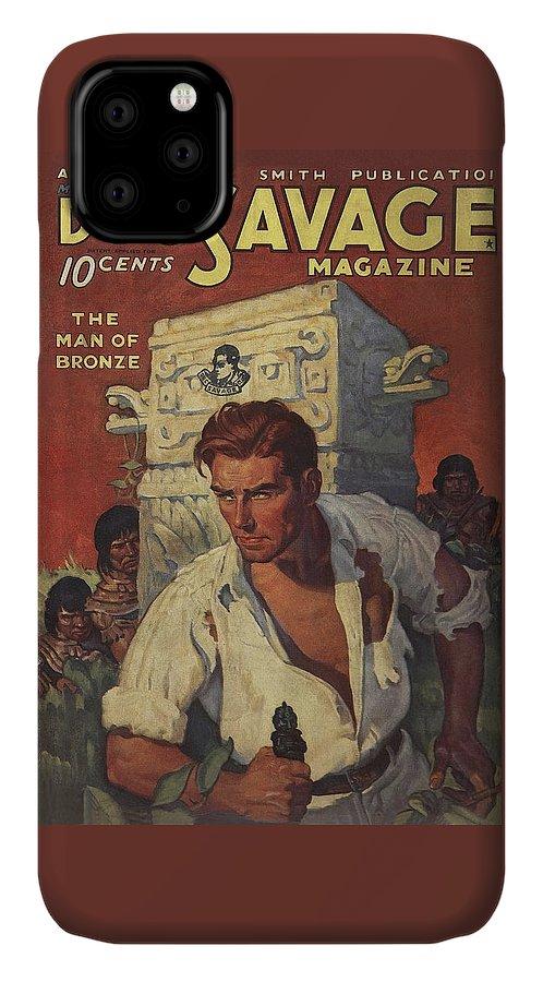 Doc Savage The Man of Bronze IPhone Case