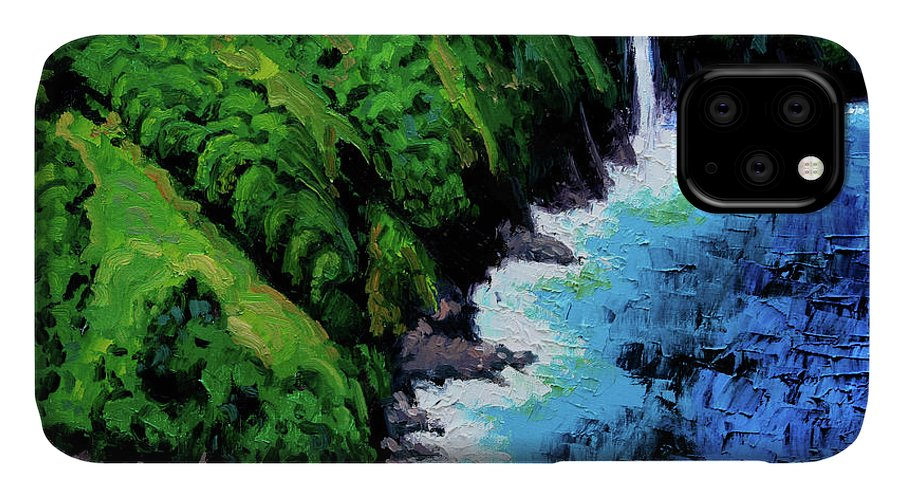 Ocean IPhone Case featuring the painting Dreaming of Hawaii by John Lautermilch