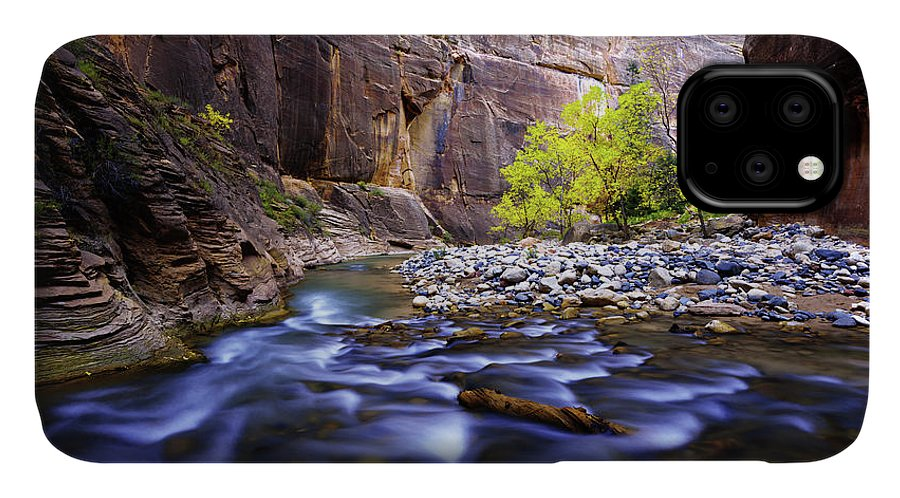 Dynamic Zion IPhone Case featuring the photograph Dynamic Zion by Chad Dutson