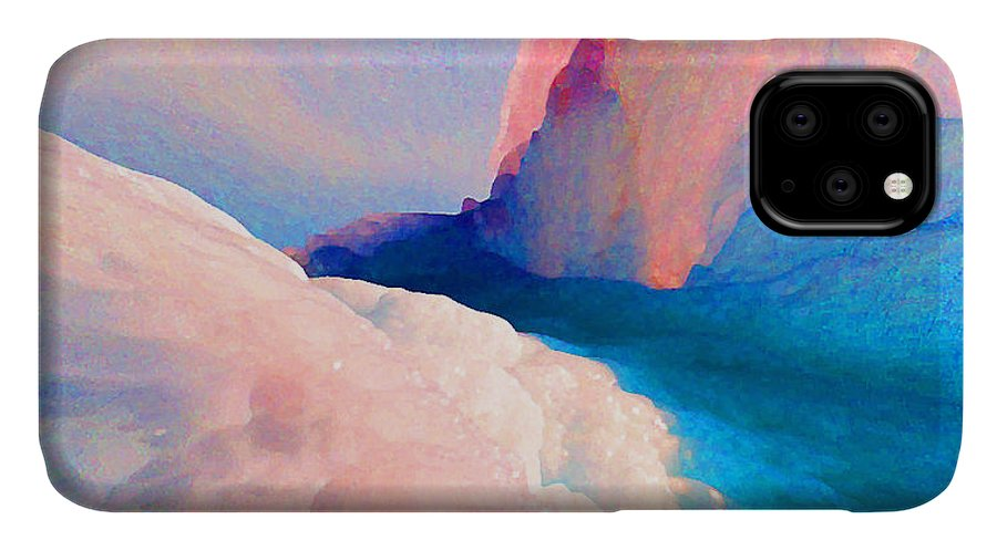 Abstract IPhone Case featuring the photograph Ebb and Flow by Steve Karol