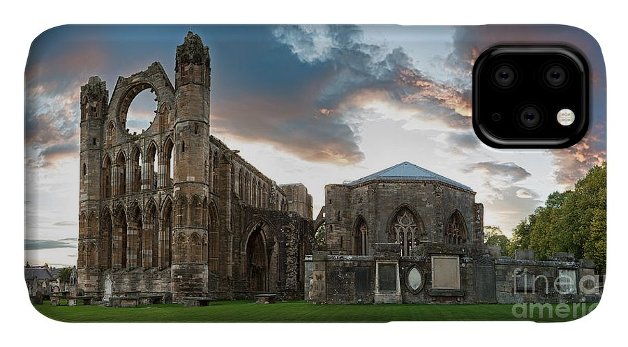 Elgin IPhone Case featuring the photograph Elgin Cathedral by Jane Rix