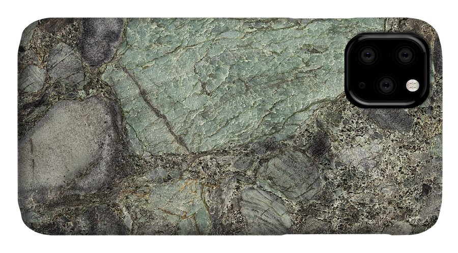 Granite IPhone Case featuring the photograph Emerald Green by Anthony Totah