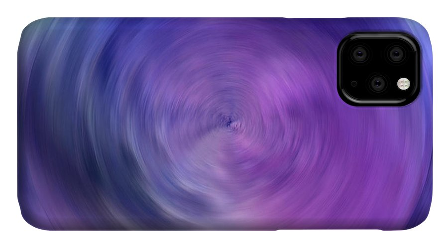 Abstract IPhone Case featuring the digital art Energy by Krissy Katsimbras