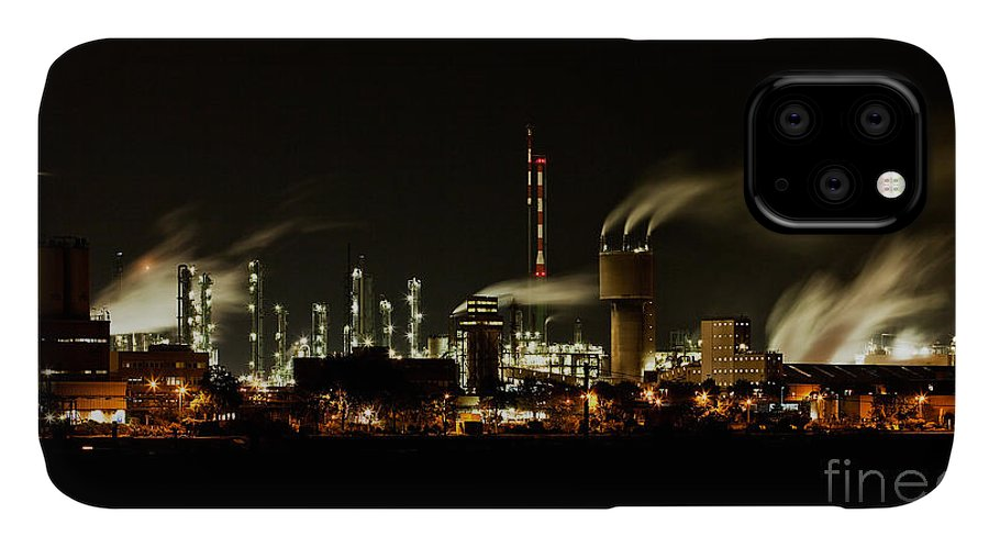 Factory IPhone 11 Case featuring the photograph Factory by Nailia Schwarz