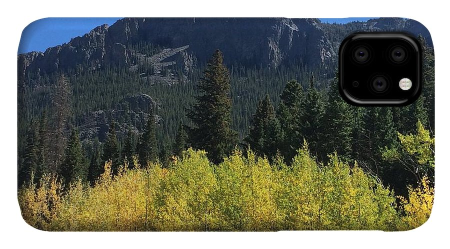 Landscape IPhone 11 Case featuring the photograph Fall at Twin Sisters by Kristen Anna