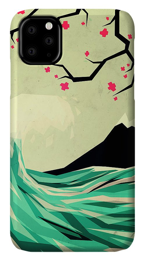 Love IPhone Case featuring the digital art Falling In Love by Yetiland