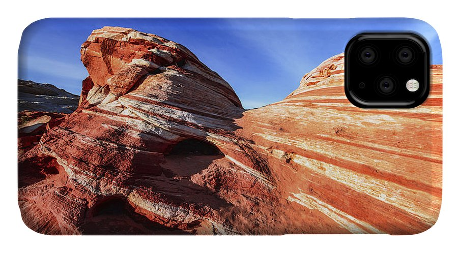 Fire Wave IPhone Case featuring the photograph Fire Wave by Chad Dutson