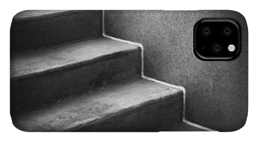 Concrete IPhone Case featuring the photograph First Steps Toward by Scott Norris