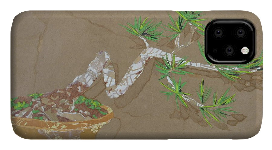 Banzai Tree IPhone Case featuring the painting For Inge by Leah Tomaino