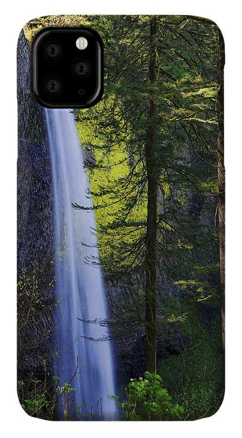 Forest Mist IPhone Case featuring the photograph Forest Mist by Chad Dutson