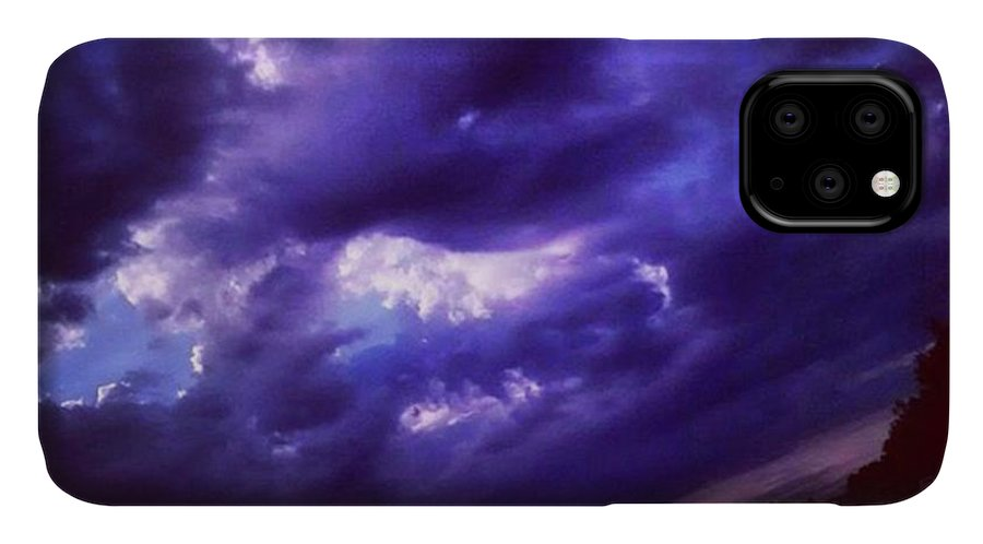 Cloudchaser IPhone Case featuring the photograph Forgot To Post This Yesterday Morning by Genevieve Esson