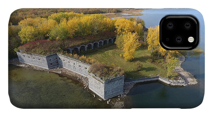 Fort IPhone Case featuring the photograph Fort Montgomery Fall by Jedidiah Thone