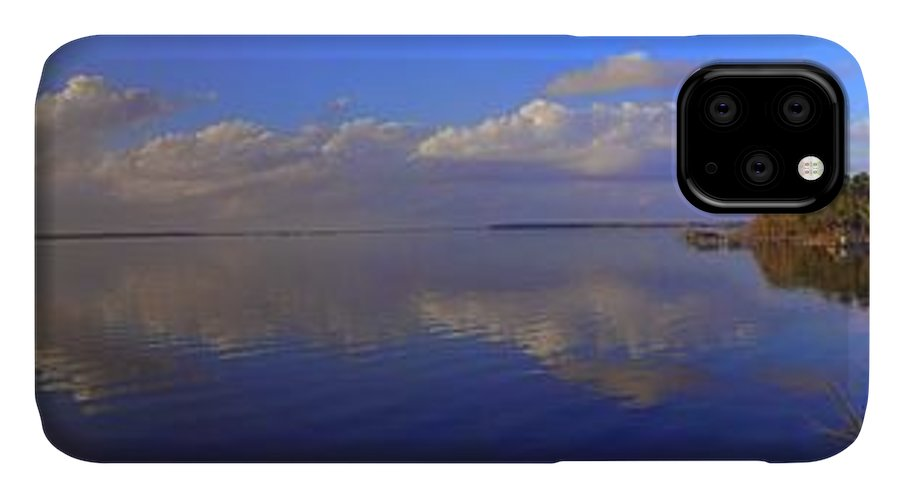 Landscapes IPhone Case featuring the photograph Fort Watson Panorama by Noel Adams