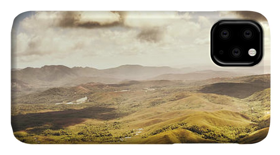 Magnificent IPhone 11 Case featuring the photograph From Zeehan To Trial Harbour by Jorgo Photography - Wall Art Gallery