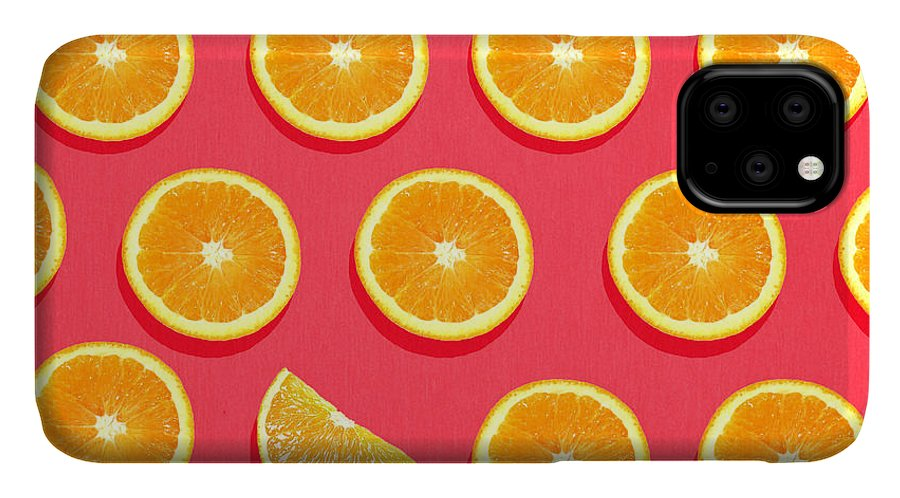 Abstract IPhone Case featuring the painting Fruit 2 by Mark Ashkenazi