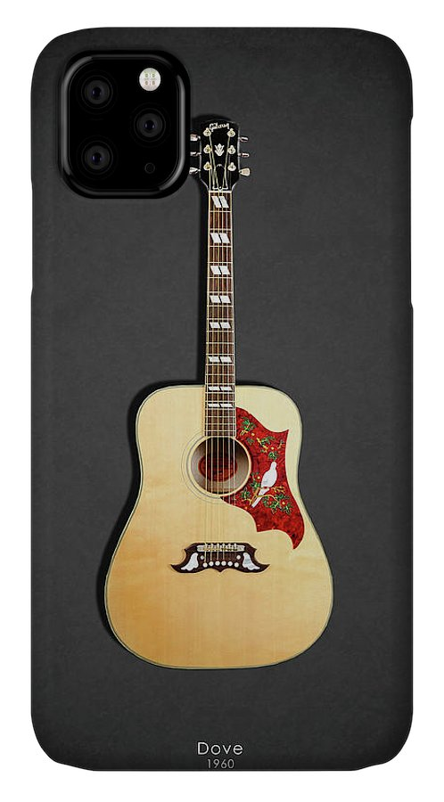 Gibson Dove IPhone Case featuring the photograph Gibson Dove 1960 by Mark Rogan