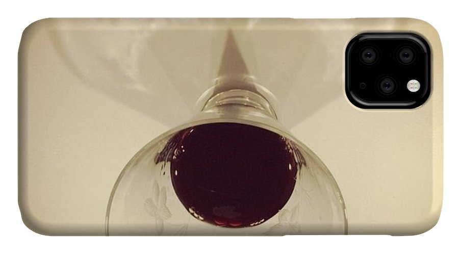 Miami IPhone 11 Case featuring the photograph Glass Of Wine, #juansilvaphotos by Juan Silva