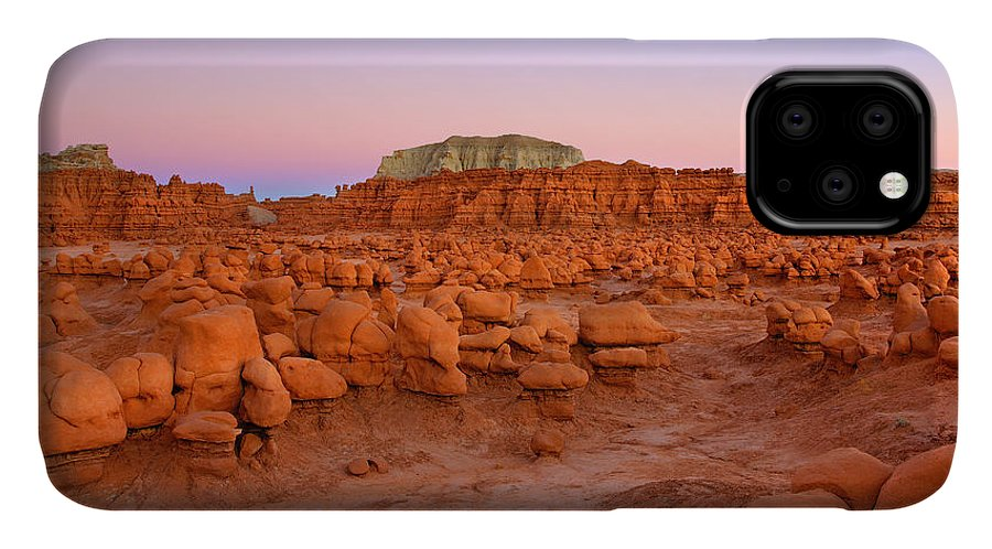 Goblin IPhone 11 Case featuring the photograph Goblin Glow by Mike Dawson
