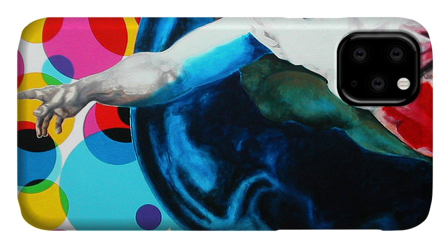 Classic IPhone Case featuring the painting God by Jean Pierre Rousselet